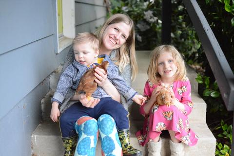 Meet the mama behind Marley's Monsters, a small eco-friendly shop on Etsy.