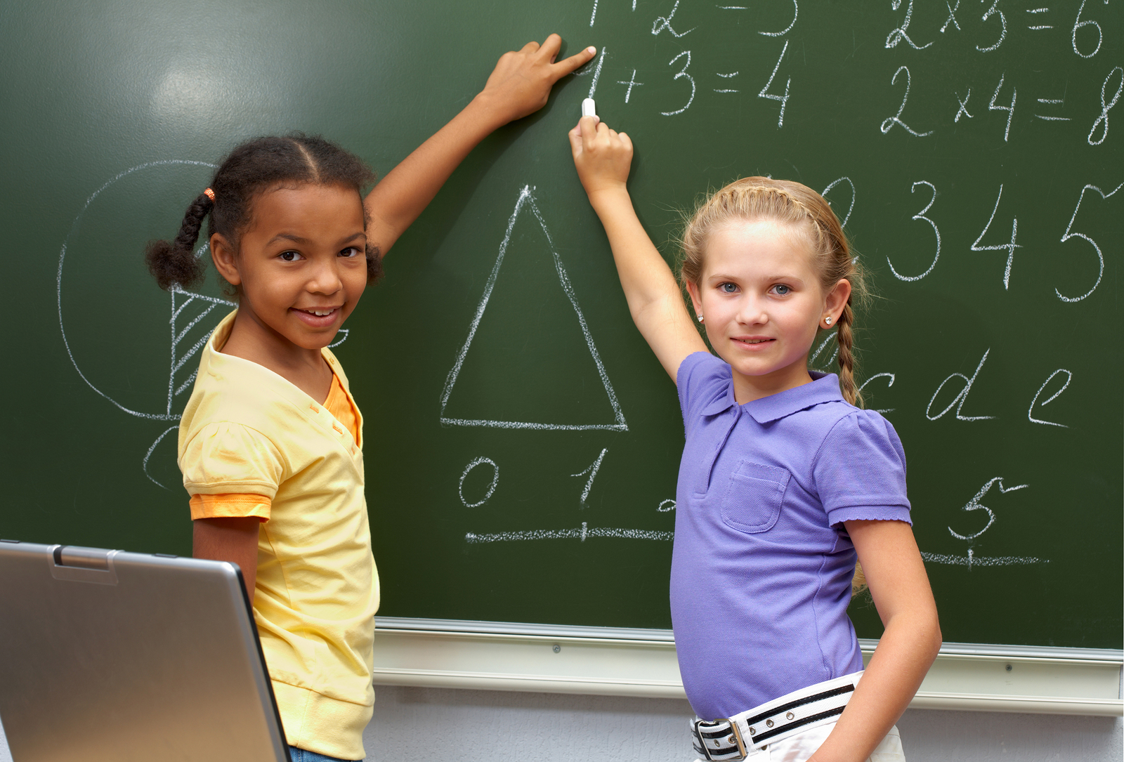 Combining movement with learning increases the chance that children can retain aspects of math.