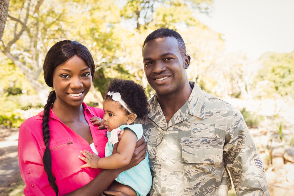 It's Military Family Appreciation Month, and no one appreciates a military family more than I do — mainly because I am part of one!