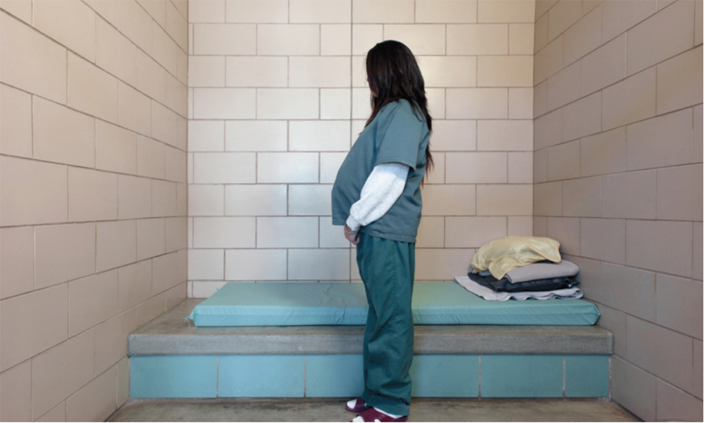 A group of doulas is helping female prisoners through pregnancy.