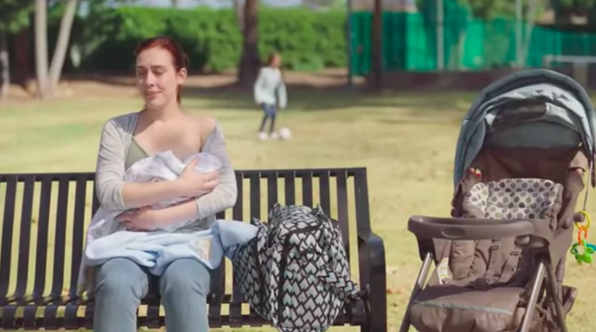 New Yogurt Ad Encourages to 'Mom On' in The Face Of Judgement