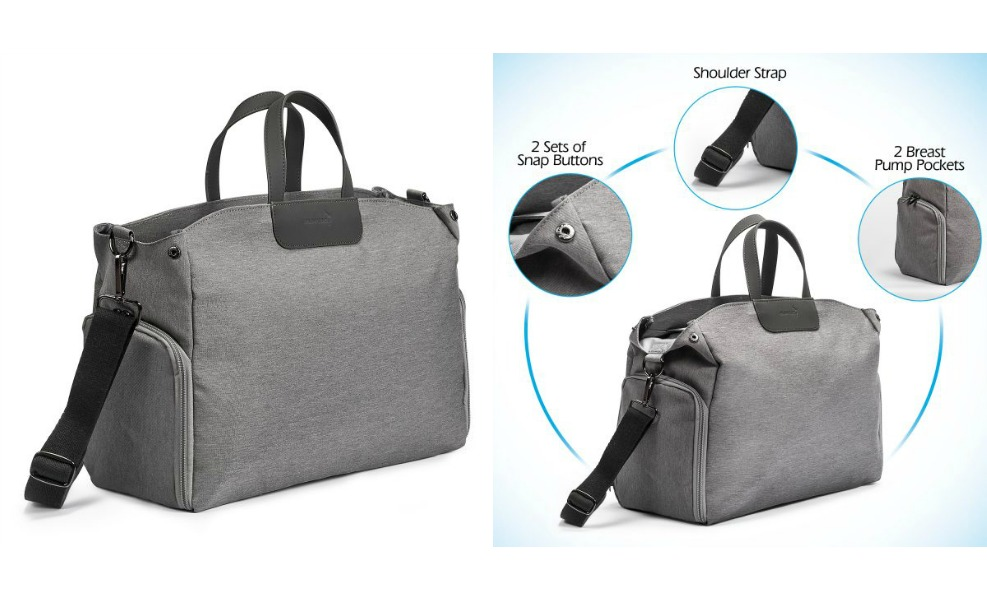 Momcozy diaper bags give stylish options