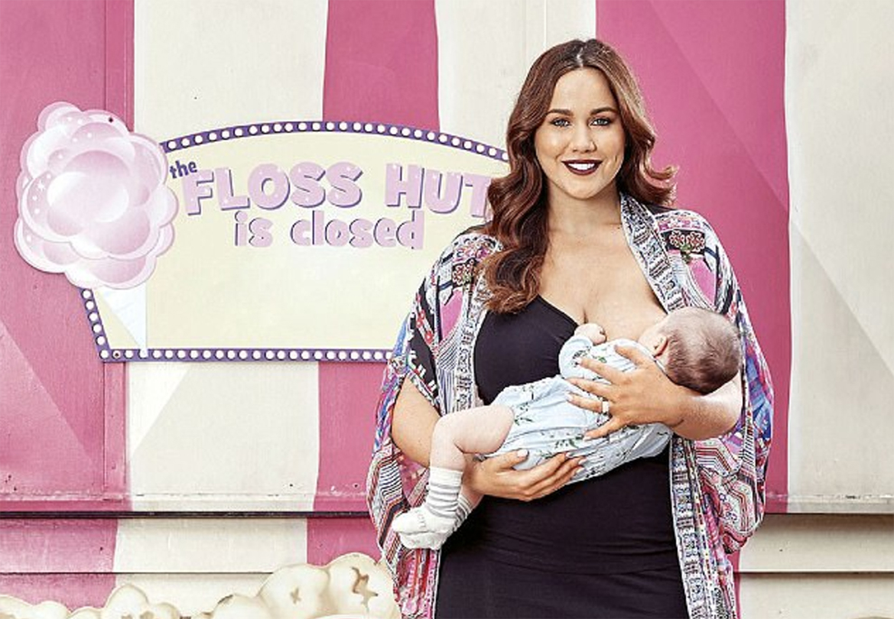 Mommy Blogger recently shared her struggles with breastfeeding.