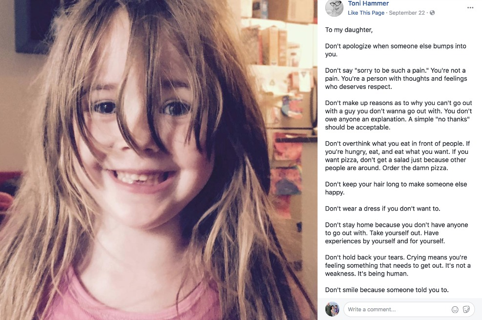 Heres Why This Moms Letter To Her Daughter Went Viral Mothering