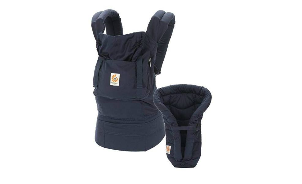 The Ergo is a popular baby carrier for mamas