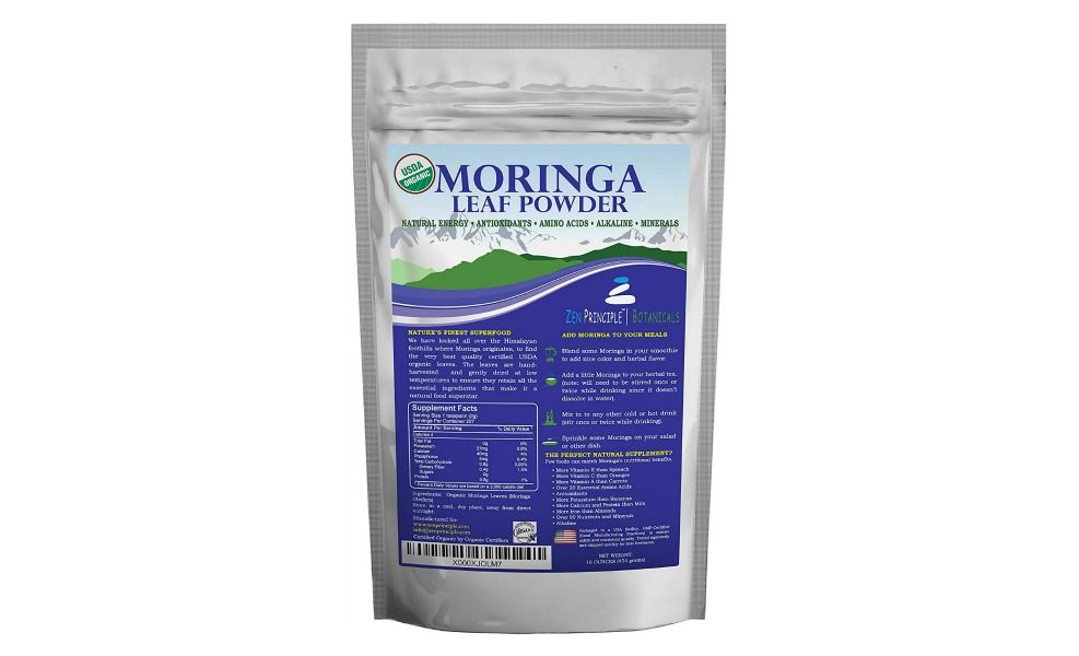 Moringa is great for smoothies and at this price, a steal!
