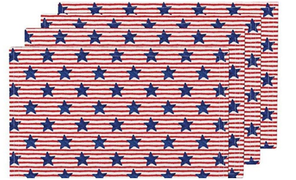 These organic placemats are great Independence day deals