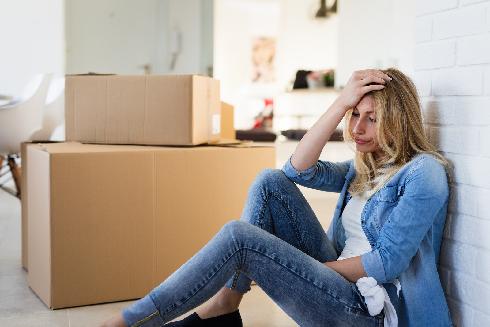 Why is moving so stressful, and what can be done to help reduce the anxiety that comes with it?