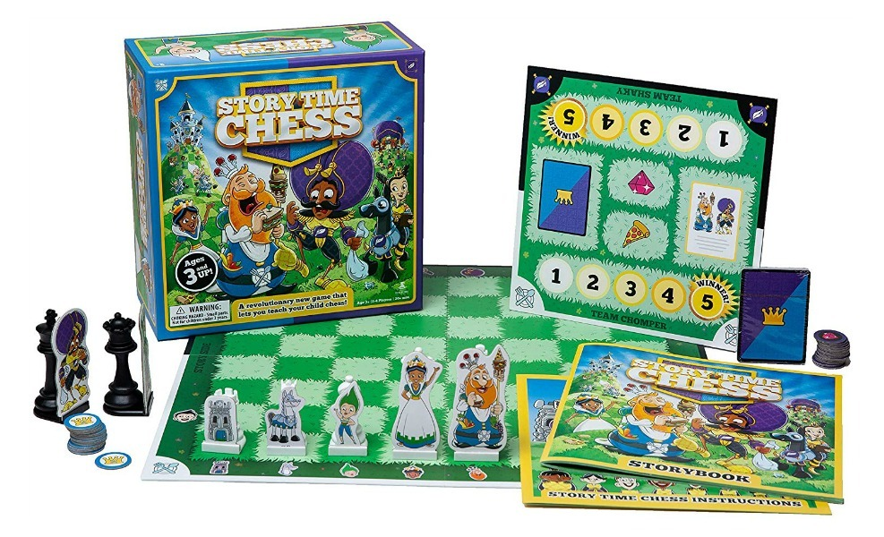 If you're looking to celebrate National STEAM Day, Storytime Chess is a great way to do so