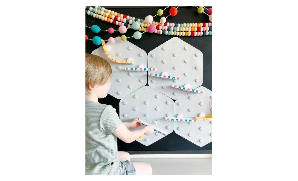 The VertiPlay marble run wall is a great STEAM product