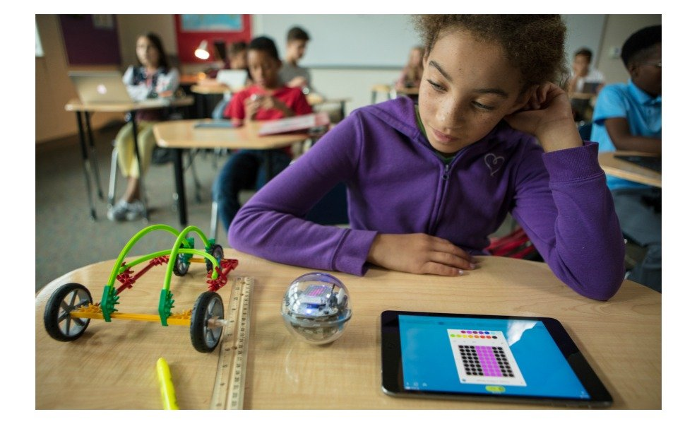 The Sphero Bolt is a great STEAM product!