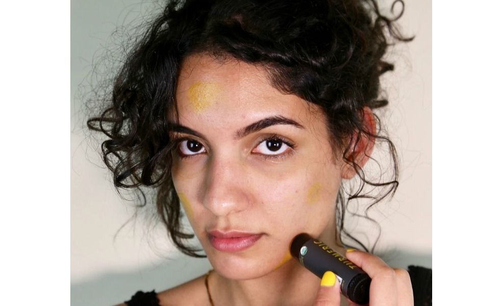 This turmeric stick is a great natural cosmetic product