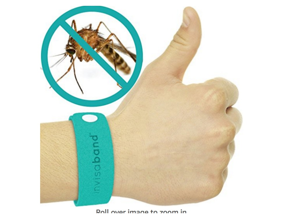 These bands repel bugs on kids