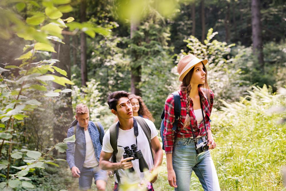 Nature teens