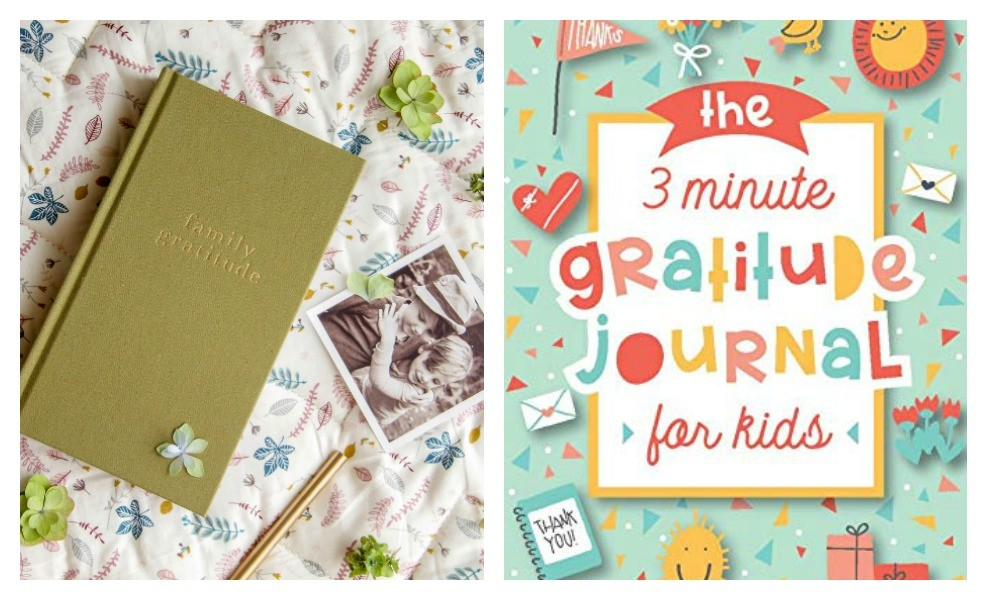 Gratitude Journals can make a difference for families