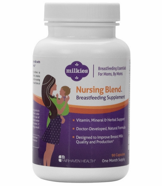 Milkies Nursing Blend: Vitamins for Nursing Moms