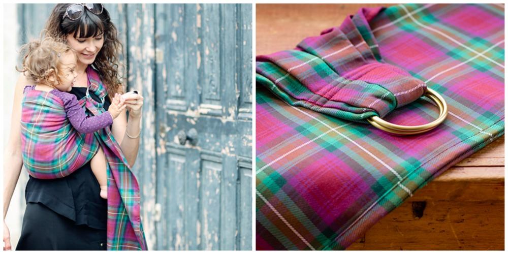We're giving away an Oscha Skye Tartan Ring Sling (worth $200).