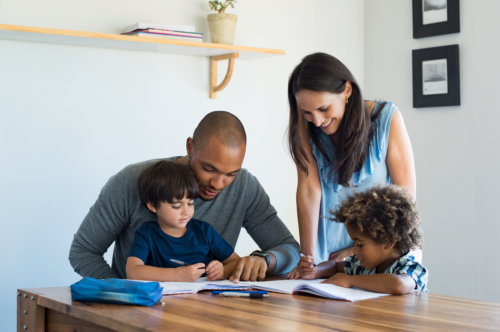 Study: Learning With Parents Attributed to Academic Success