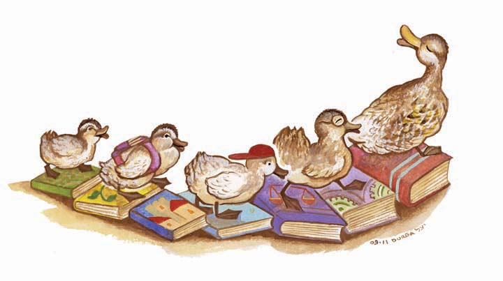 Make Way For Reading: Illustrating A Book About Books