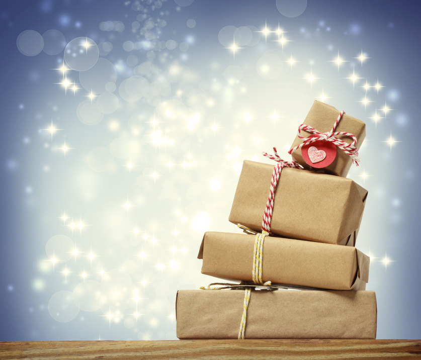 Where do we get the messages that this time of year is about getting and giving more and more material items?