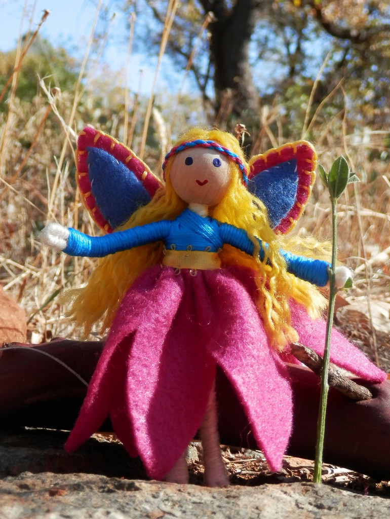 Pink Flower Fairy Mothering
