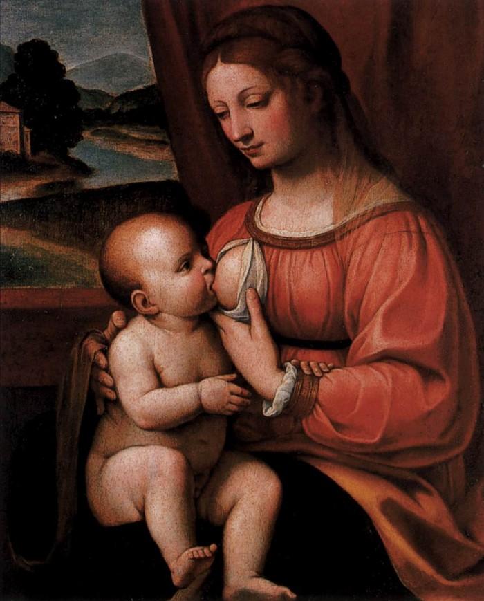 Pope Francis-breastfeeding