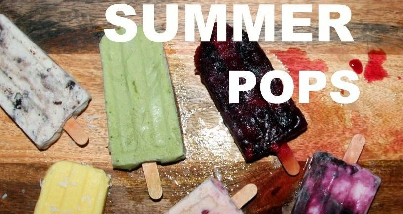 Here's a round-up of our favorite popsicle recipes of Summer 2017!
