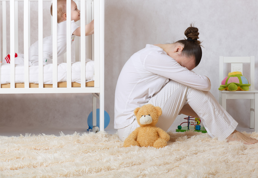 Postpartum depression can be debilitating for many women.