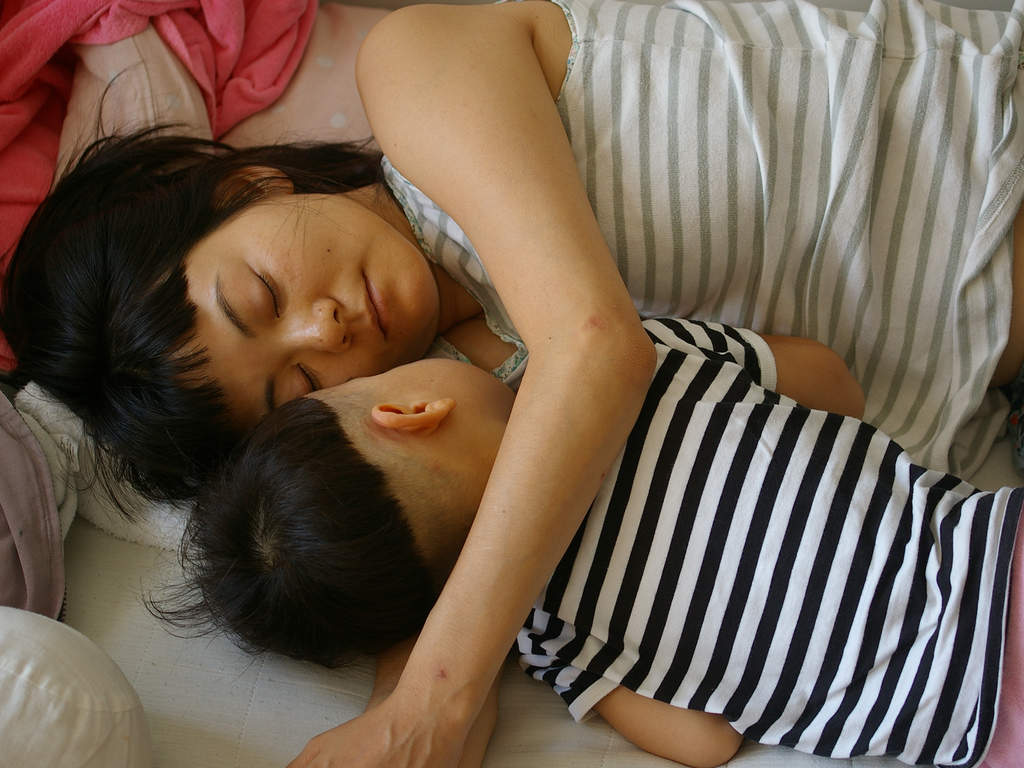 Poor sleep quality may increase a mother's risk of developing GDM.