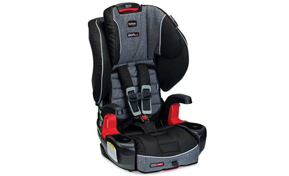 The Britax Frontier Clicktight keeps your little one safe for many years