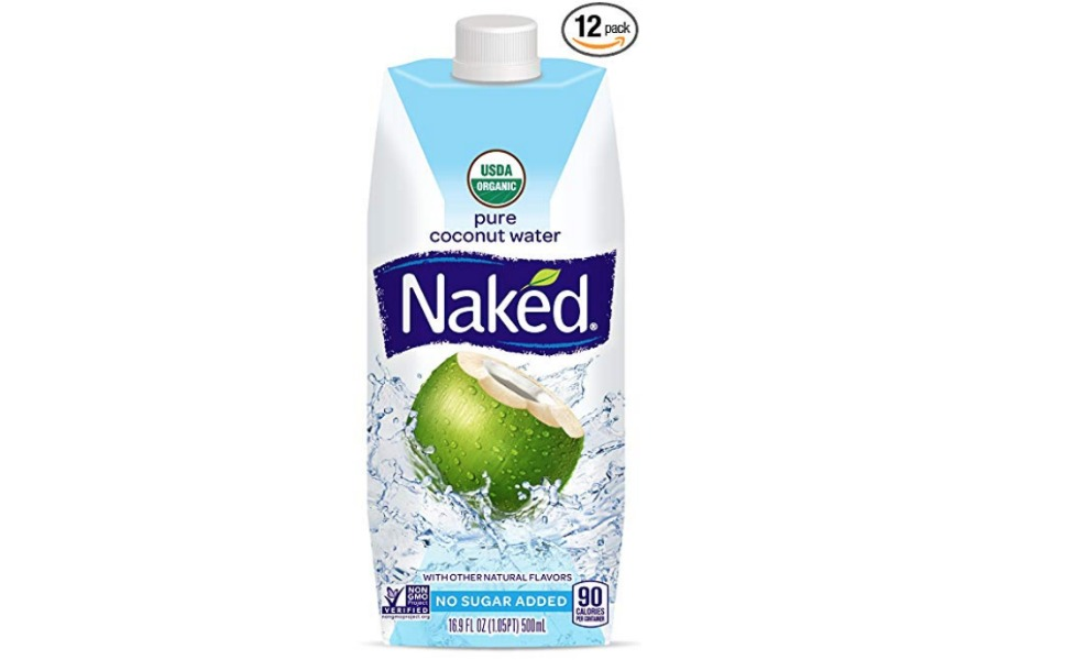Replenish electrolytes naturally with Naked's organic coconut juice
