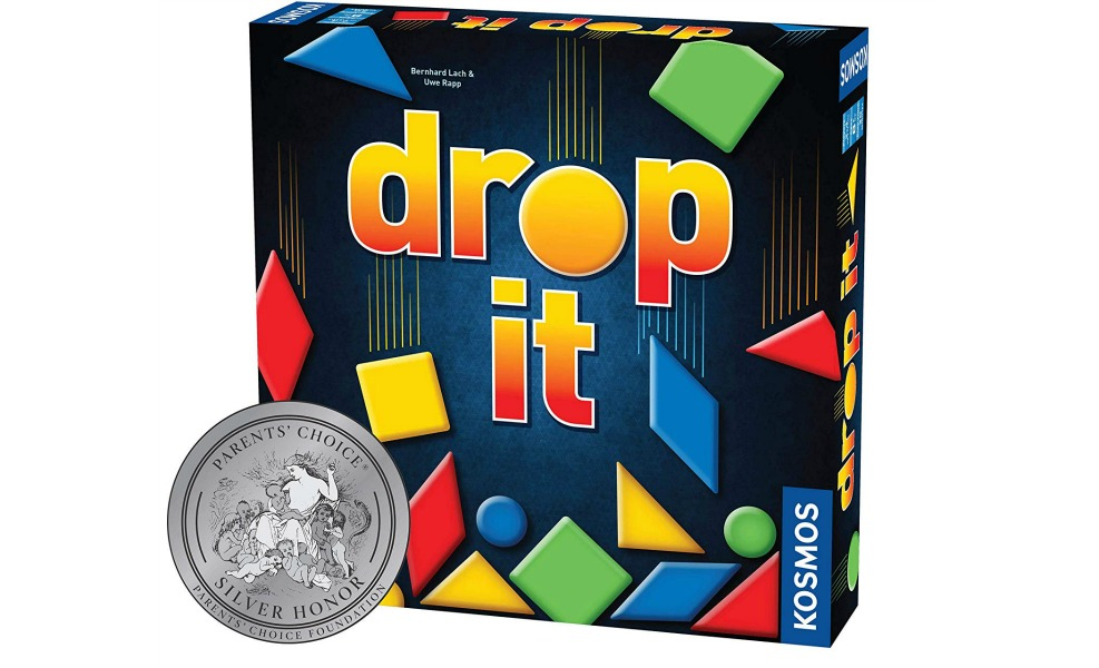 Drop It is a fun, family strategy game