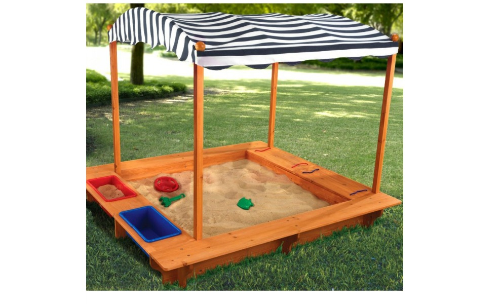 Check out the KidKraft sandbox at significant savings for Prime Day