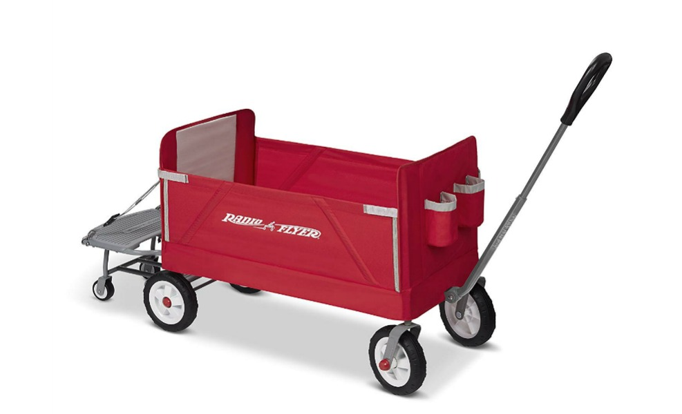 This Radio Flyer wagon is an Amazon Exclusive for Prime Day