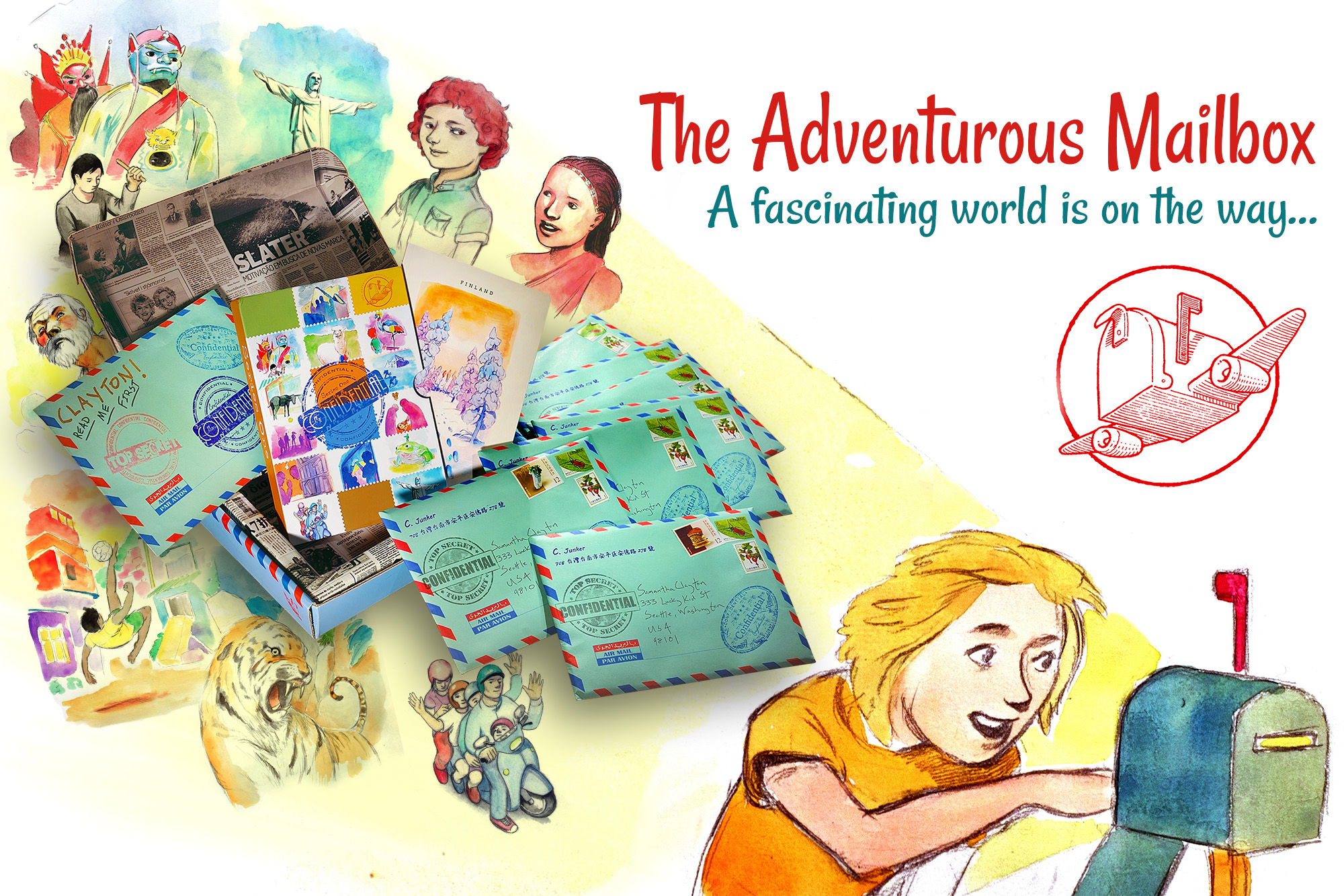 3 Big Benefits for Kids from Exploring World Cultures and a Giveaway!