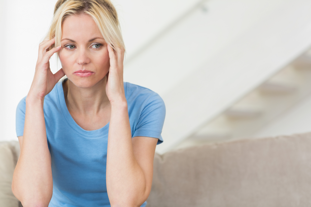 Some women suffer from PTSD after a traumatic birth experience.