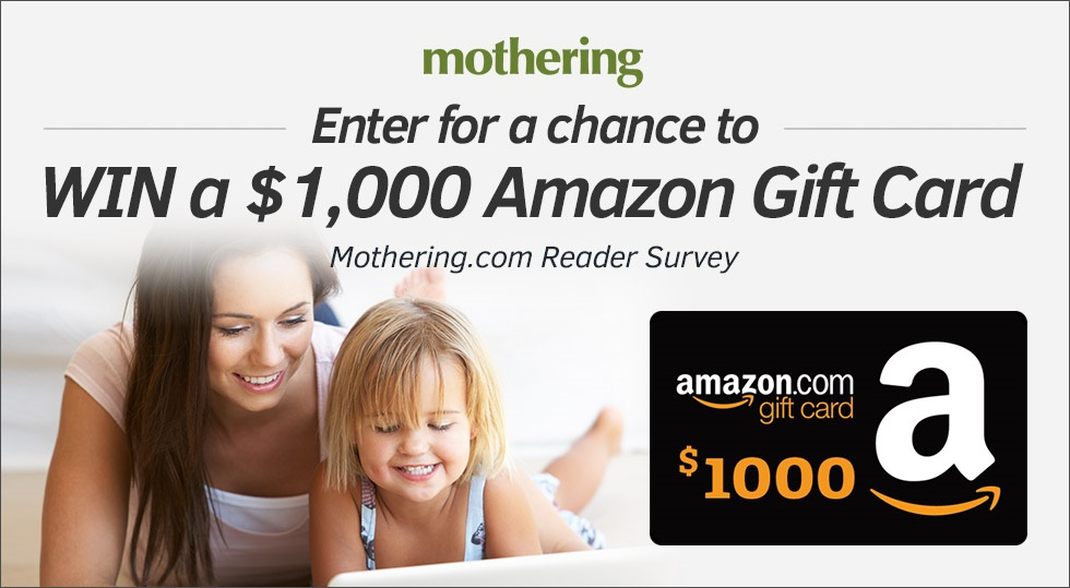 Enter to Win a $1000 Amazon Gift Card by Taking Our Quick Reader Survey