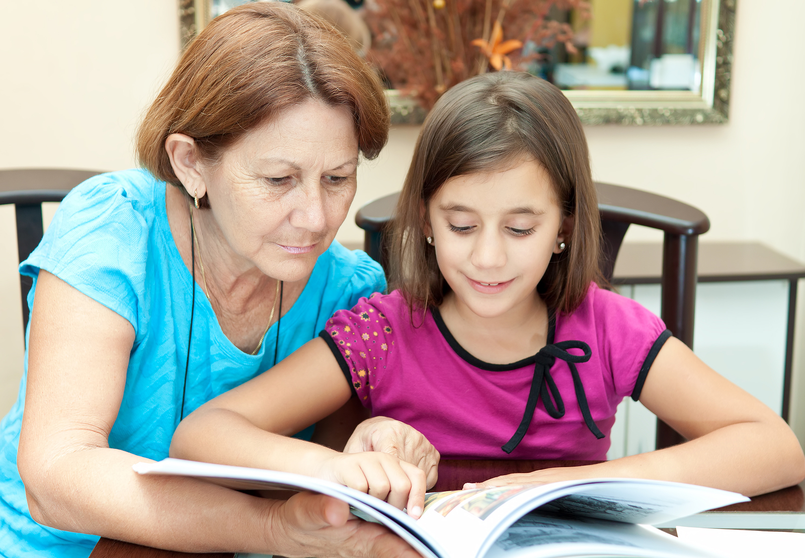 You should look for signs of reading readiness that develop over time.
