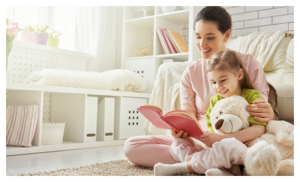 Reading to your kids every day can give them a million word advantage