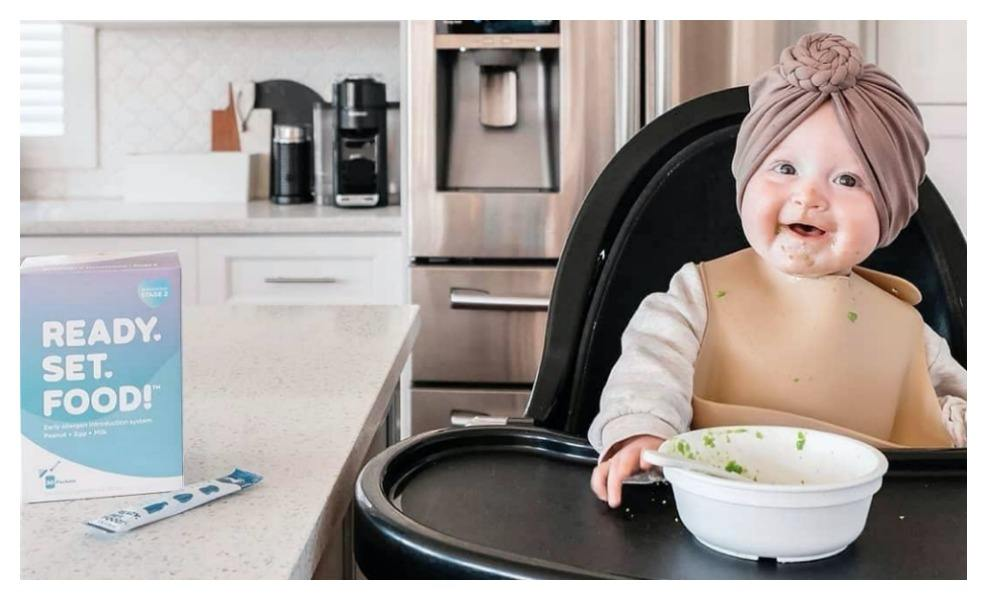 Ready, Set, Food! is reducing childhood allergy risk with early allergen introduction