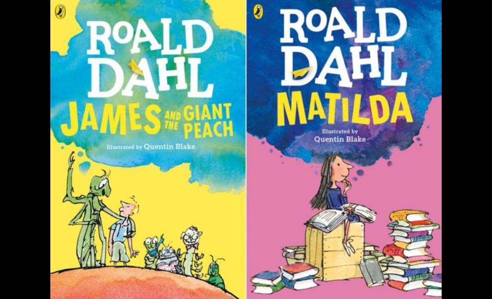 Roald Dahl books teach our children much.