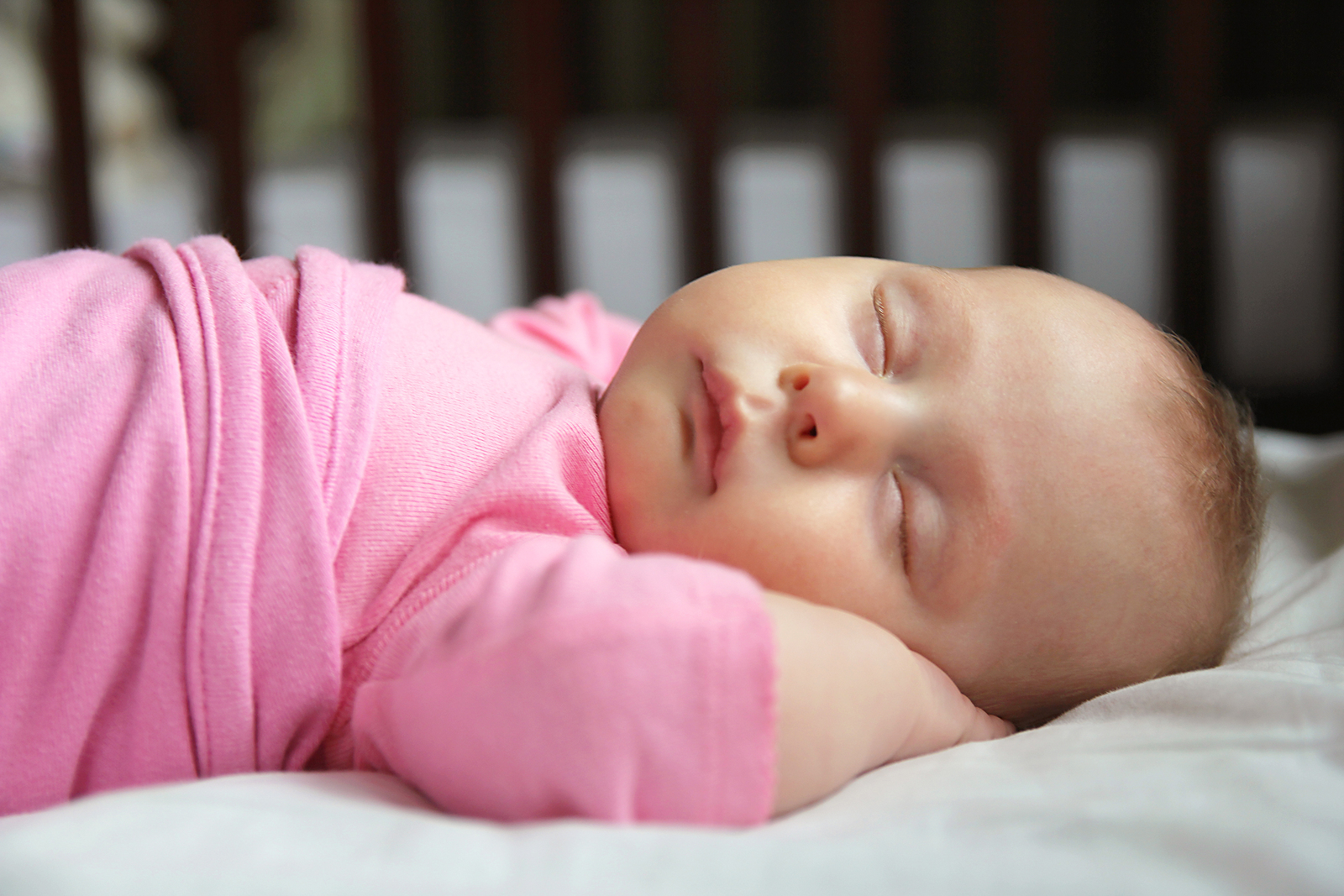 A little more than 40% of mothers report putting babies to sleep on their backs, as is recommended for safe sleeping.