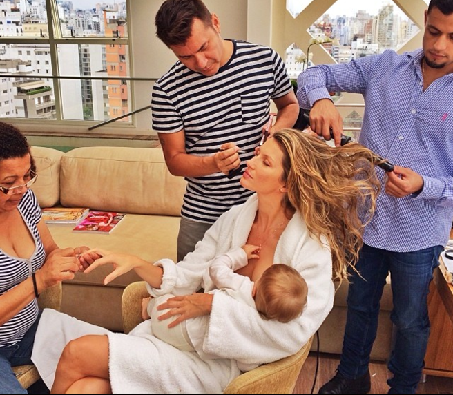 Celebrities are joining our fight to normalize breastfeeding — any place, any time.