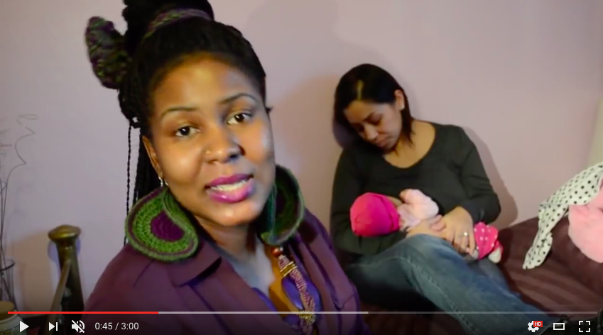 One inspiring woman successfully utilizes music to teach new mothers how to breastfeed.