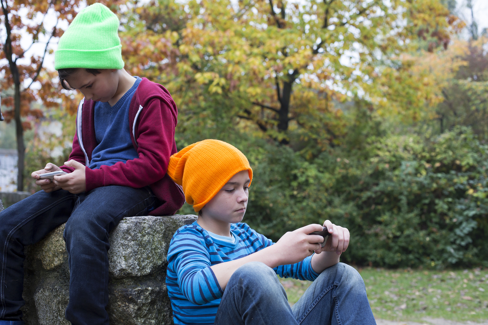 Excessive amount of time children spend in front of a screen puts their health at risk.