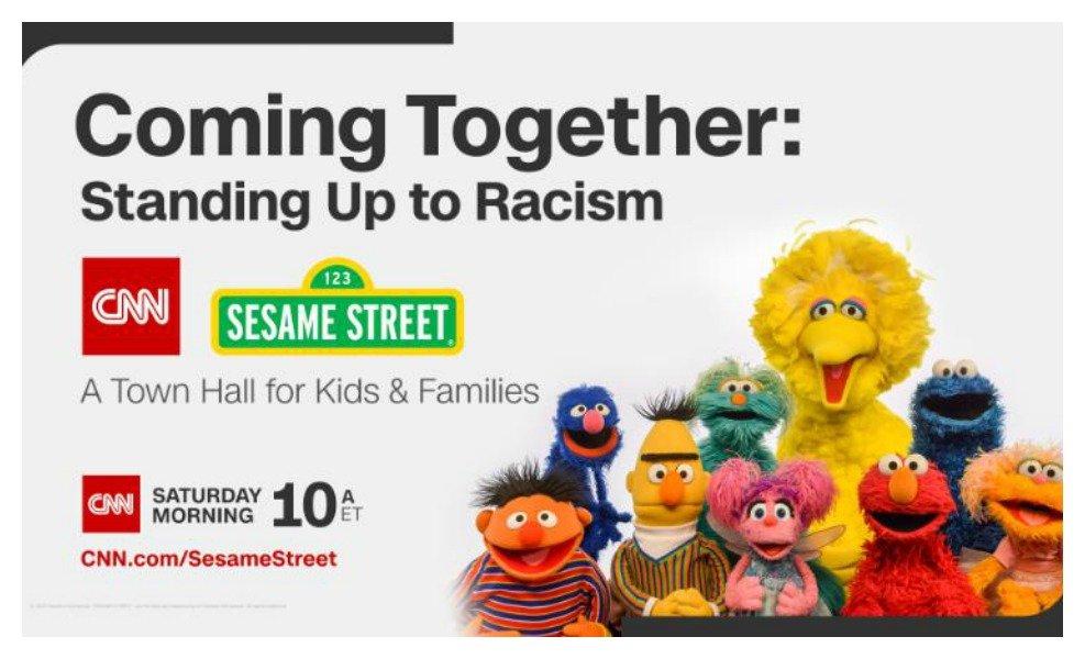 Sesame Street Teams with CNN to address racism