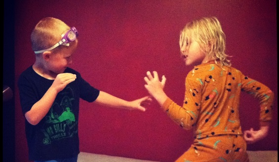 Sibling Roughhousing: The Benefits of the Wrestling Ring
