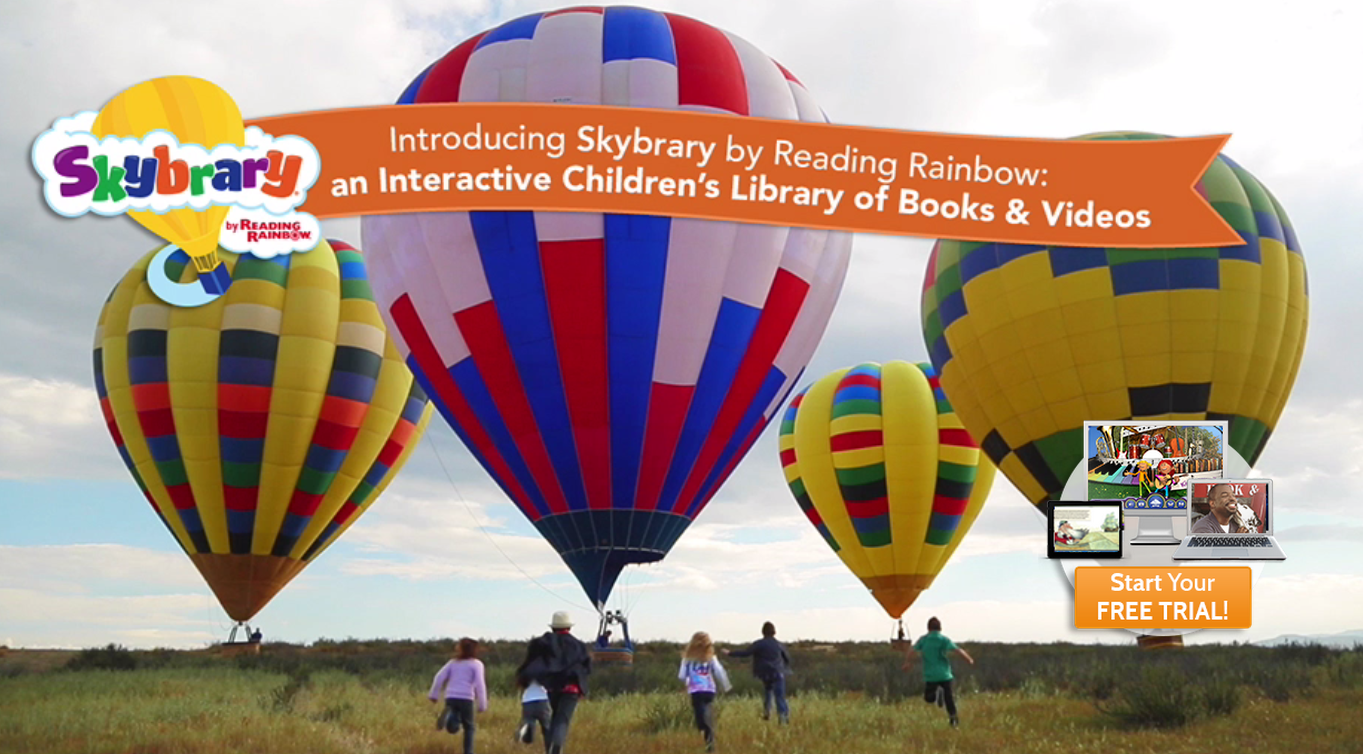 We're Giving Away Two iPads to Celebrate Reading Rainbow's Launch of Skybrary!