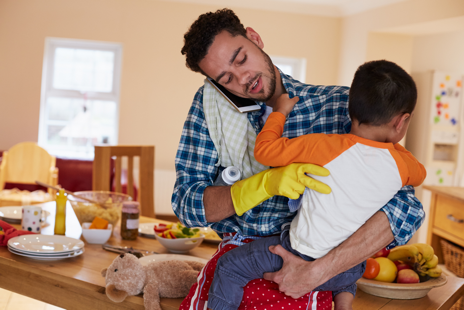 Although often considered rare, the number of stay-at-home dads is rising.