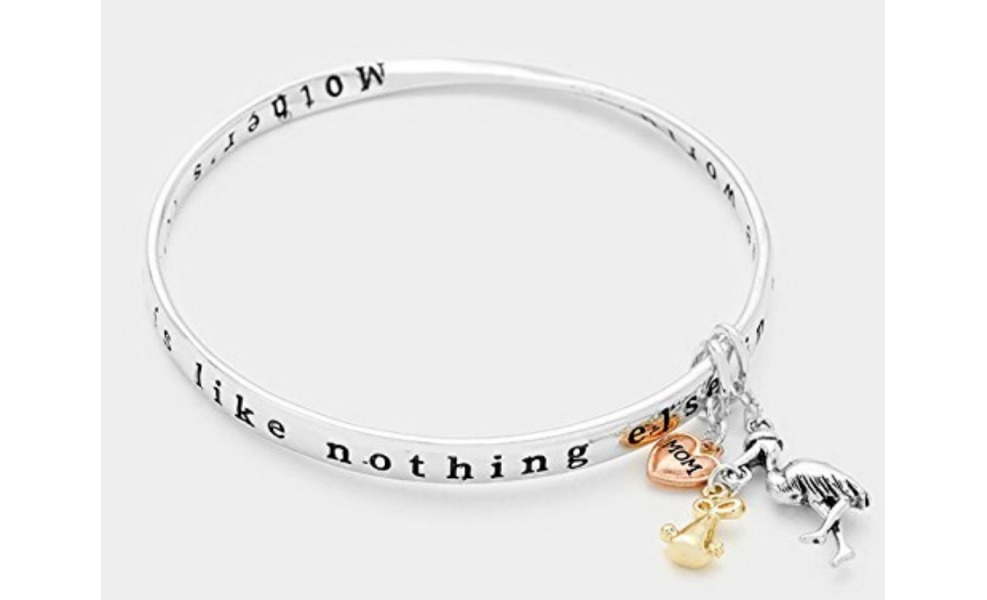 This bracelet will remind a mama there is nothing like her love!
